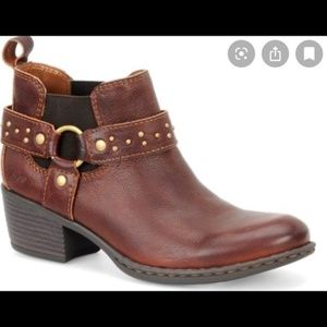 Born B.O.C. Claudette Ankle Boot Brown Size 6